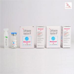 Monocef Ceftriaxone Injection 1G