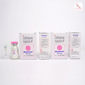 Monocef Ceftriaxone Injection 250MG