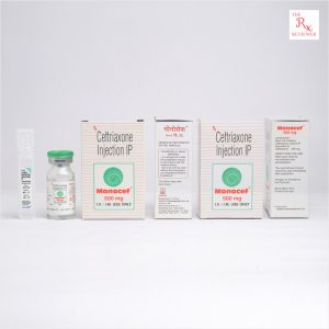 Monocef Ceftriaxone Injection 500MG